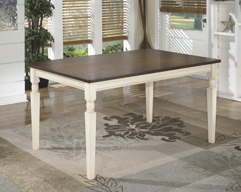 Ashley Furniture Whitesburg Rectangular Dining Table D583-25