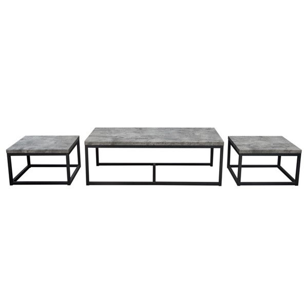 Diamond Sofa Atlus 3pc Coffee Table Sets DMND-ATLUSCT-OCT-S-VAR
