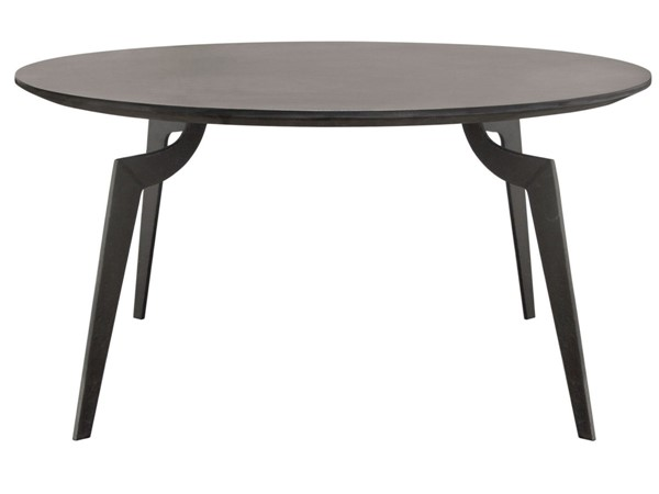 Diamond Sofa Eclipse Grey MDF Round Cocktail Table DMND-ECLIPSECTIR