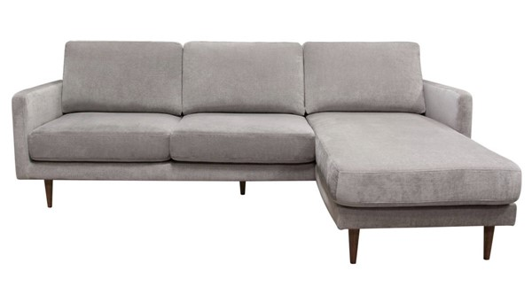 Diamond Sofa Kelsey Grey Reversible Chaise Sectional DMND-KELSEYSEGR