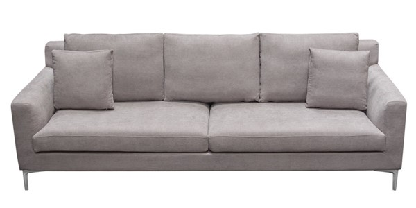 Diamond Sofa Seattle Grey Loose Back Sofas DMND-SEATTLESO-VAR