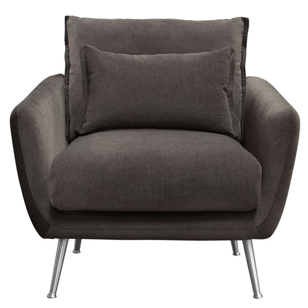 Diamond Sofa Vantage Grey Fabric Chair DMND-VANTAGECHGR