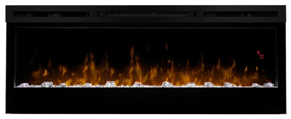 Dimplex Prism Black 50 Inch Wall Mount Electric Fireplace DMP-BLF5051