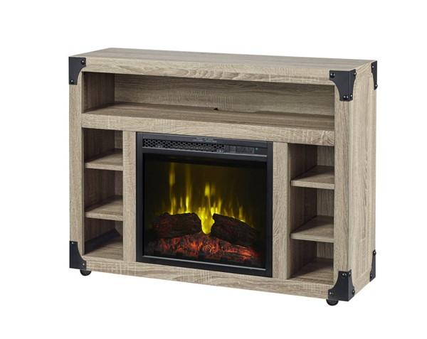 Dimplex C3 Chelsea Distressed Oak TV Stand Electric Fireplace DMP-C3P18LJ-2086DO