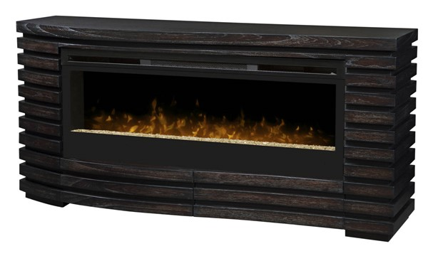Dimplex elliot hawthorne wood mantel fireplace with glass - Going to bed with embers in fireplace ...
