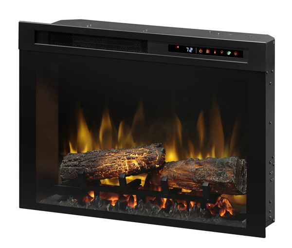 Dimplex Multi-Fire Xhd Black 26 Inch Firebox with Logs DMP-XHD26L
