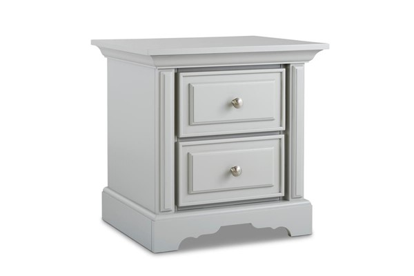 Dolce Babi Venezia Misty Grey 2 Drawers Night Stand DOLBI-173521-23