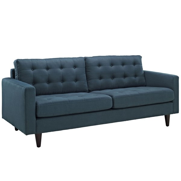 Modway Furniture Empress Azure Upholstered Sofa EEI-1011-AZU