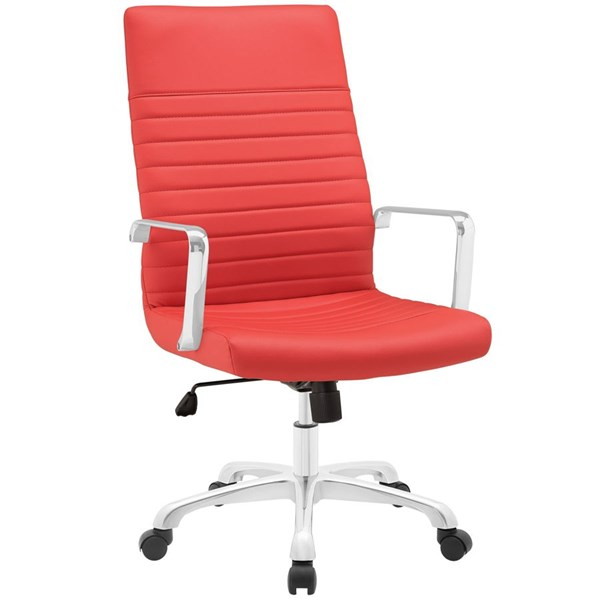 Modway Furniture Finesse Red Highback Office Chair EEI-1061-RED