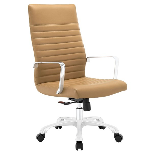 Modway Furniture Finesse Tan Highback Office Chair EEI-1061-TAN
