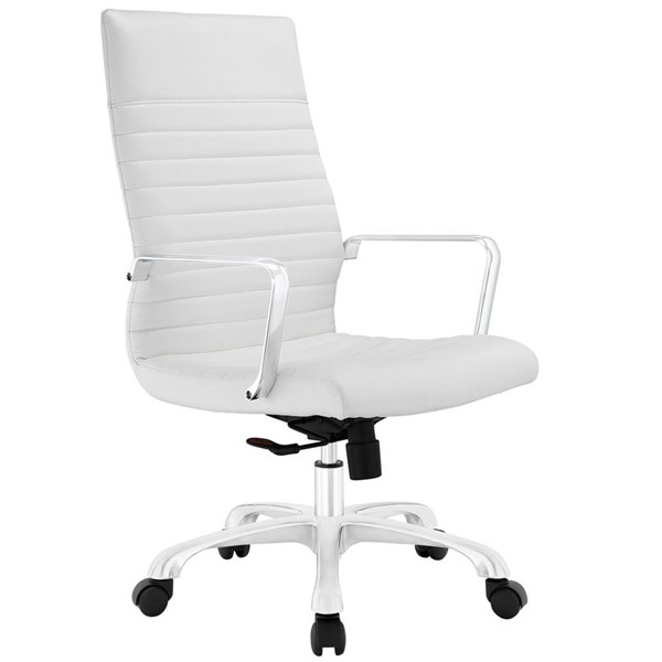 Modway Furniture Finesse White Highback Office Chair EEI-1061-WHI