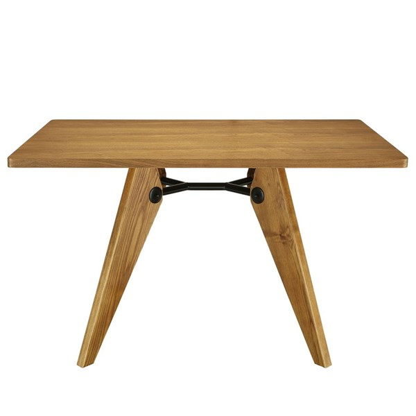Landing Modern Walnut Wood Rectangle Dining Table EEI-1087-WAL
