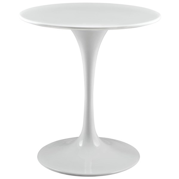 Modway Furniture Lippa White 28 Inch Wood Top Dining Table EEI-1115-WHI