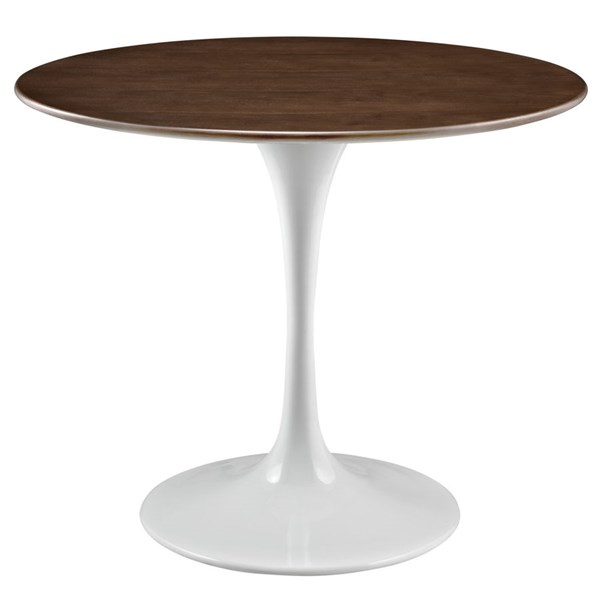 Modway Furniture Lippa Walnut 36 Inch Dining Table EEI-1136-WAL