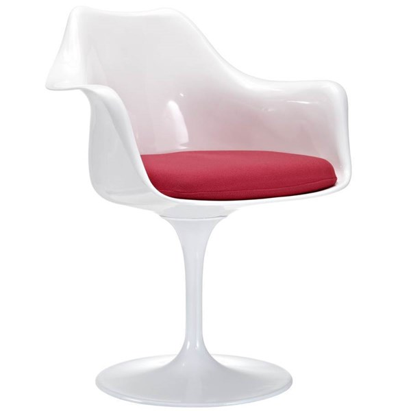 Modway Furniture Lippa Red Dinette Chair EEI-116-RED