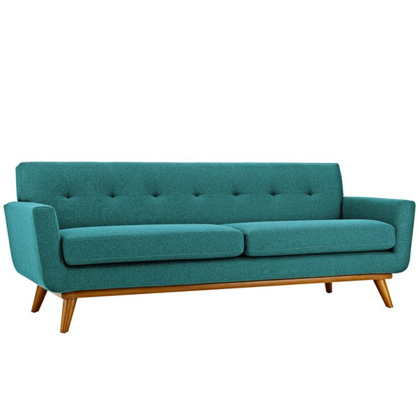 Modway Furniture Engage Teal Upholstered Sofa EEI-1180-TEA