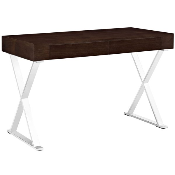 Modway Furniture Sector Walnut Office Desk EEI-1183-WAL