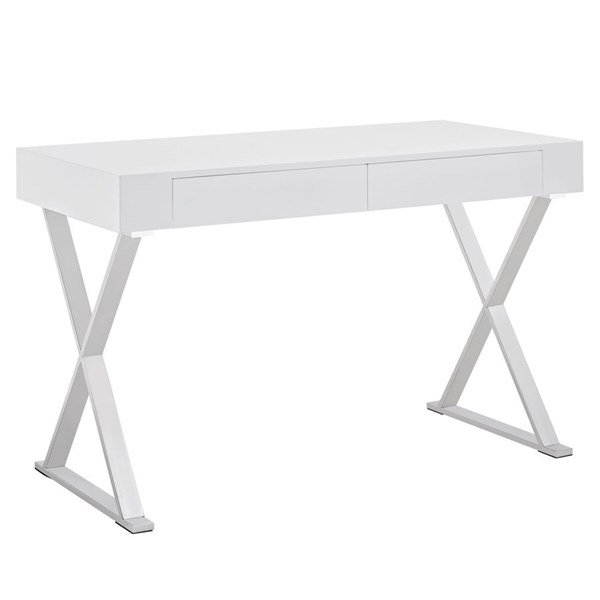 Modway Furniture Sector White Office Desk EEI-1183-WHI