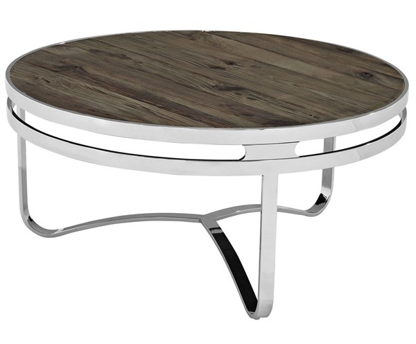 Modway Furniture Provision Wood Top Coffee Table EEI-1213-BRN