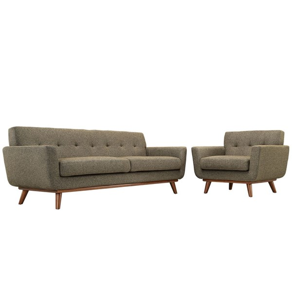Modway Furniture Engage Oatmeal Armchair and Sofa Set EEI-1344-OAT