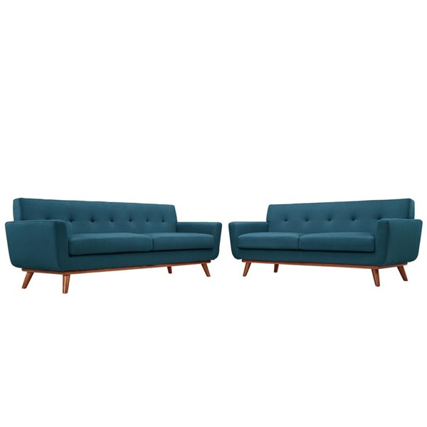 Modway Furniture Engage Azure Loveseat and Sofa Set EEI-1348-AZU