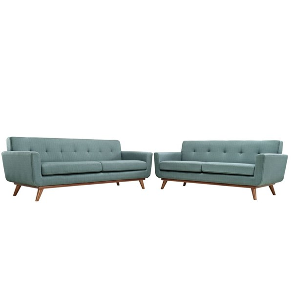 Modway Furniture Engage Laguna Loveseat and Sofa Set EEI-1348-LAG