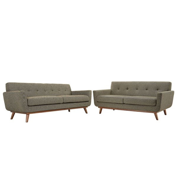 Modway Furniture Engage Oat Loveseat and Sofa Set EEI-1348-OAT