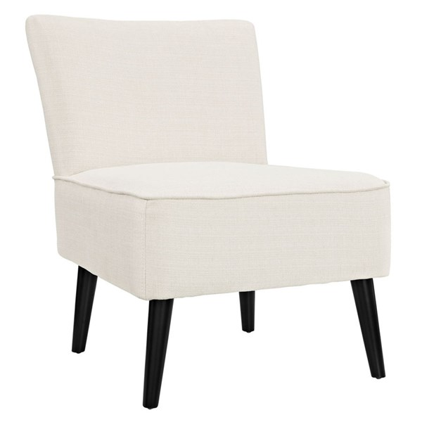 Reef Contemporary Beige Fabric Solid Wood Side Chair EEI-1405-BEI