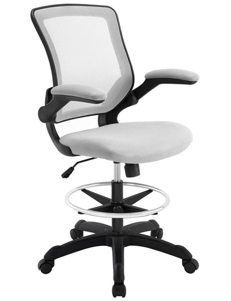 Modway Furniture Veer Gray Drafting Stool EEI-1423-GRY