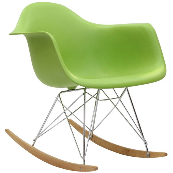 Modway Furniture Rocker Green Lounge Chair EEI-147-GRN
