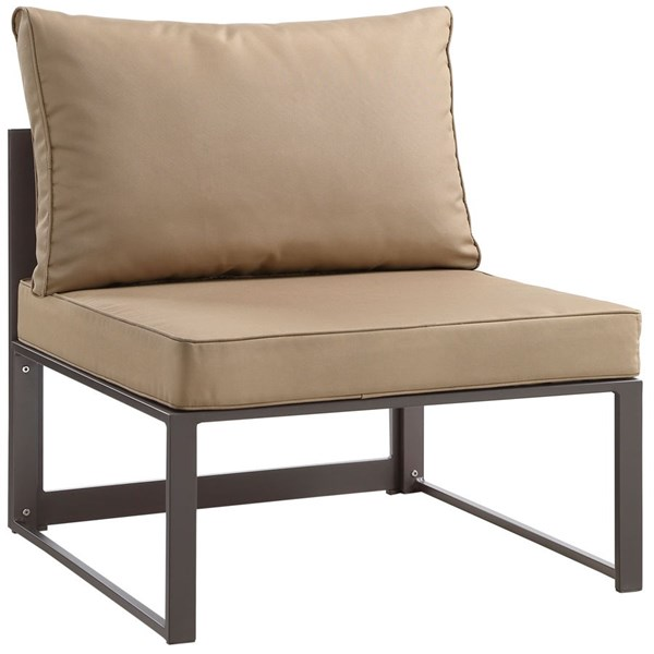 Modway Furniture Fortuna Armless Outdoor Chairs EEI-1520-OS-CH-VAR