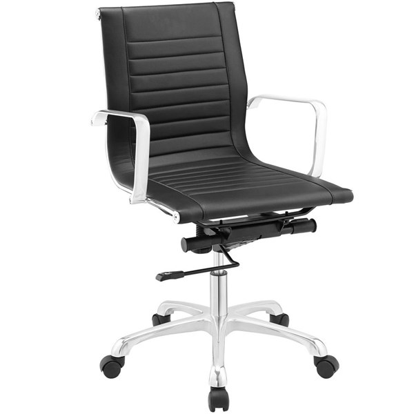 Modway Furniture Runway Mid Back Office Chair EEI-1527-BLK