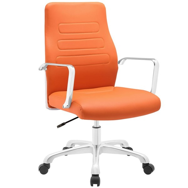 Modway Furniture Depict Orange Mid Back Office Chair EEI-1531-ORA