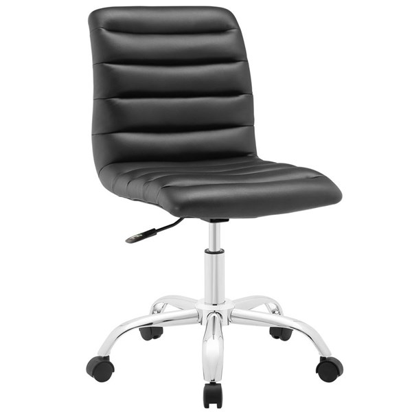 Modway Furniture Ripple Black Mid Back Office Chair EEI-1532-BLK