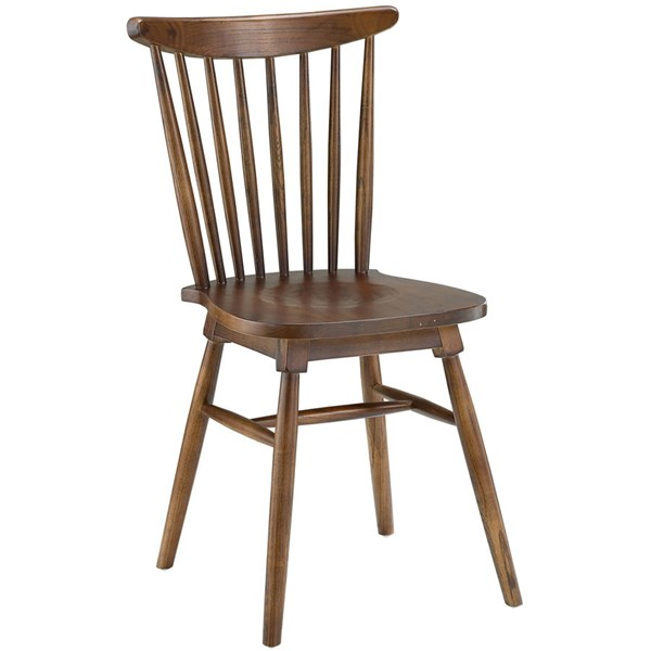Amble Vintage Walnut Solid Wood Dining Side Chair EEI-1539-WAL