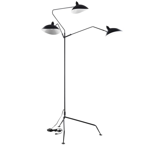 Modway Furniture View Stainless Steel Floor Lamp EEI-1593