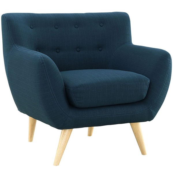 Modway Furniture Remark Azure Upholstered Armchair EEI-1631-AZU