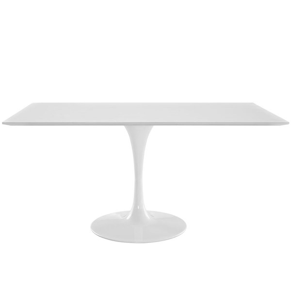 Modway Furniture Lippa 60 Inch Rectangle Dining Table EEI-1656-WHI