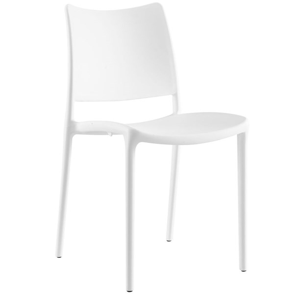 Hipster Modern White PP Dining Side Chair EEI-1703-WHI