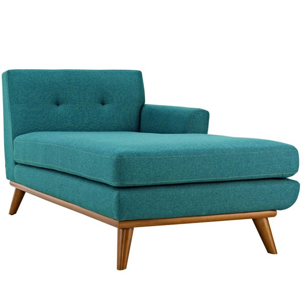 Modway Furniture Engage Teal Right Facing Chaise EEI-1794-TEA