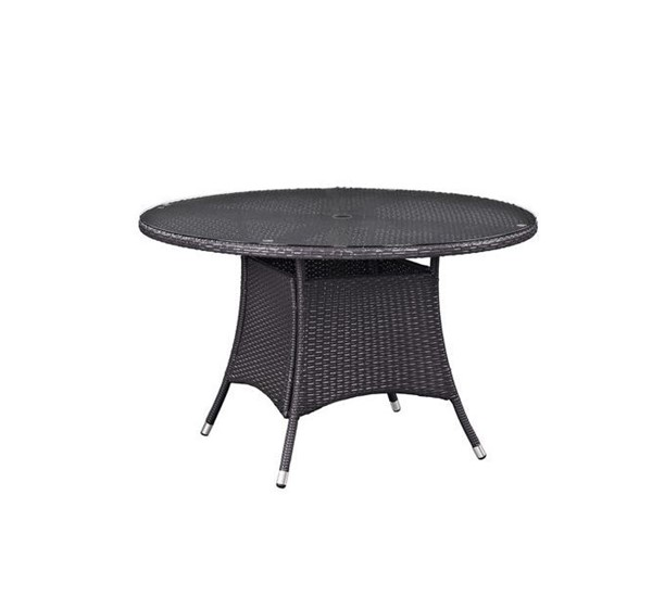 Modway Furniture Convene 47 Inch Round Outdoor Patio Dining Table EEI-1916-EXP