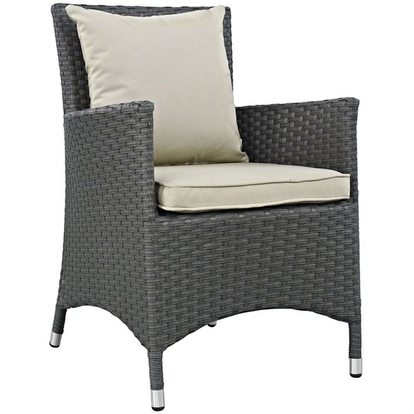Modway Furniture Sojourn Outdoor Sunbrella Dining Chairs EEI-1924-OD-DC-VAR