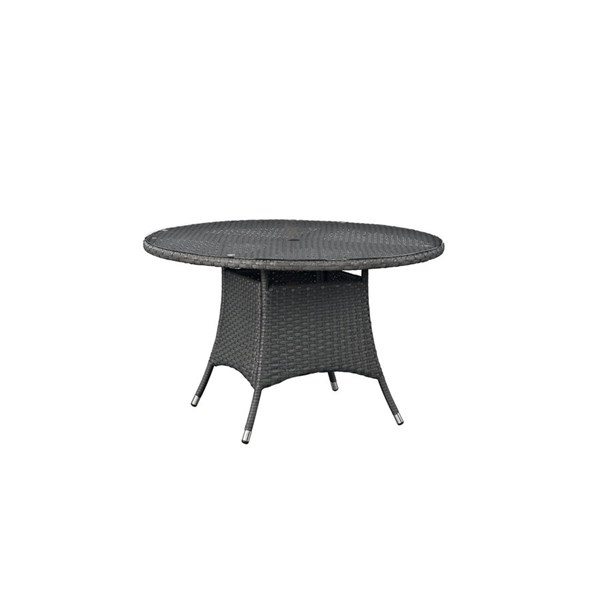 Modway Furniture Sojourn 47 Inch Round Outdoor Dining Table EEI-1927-CHC