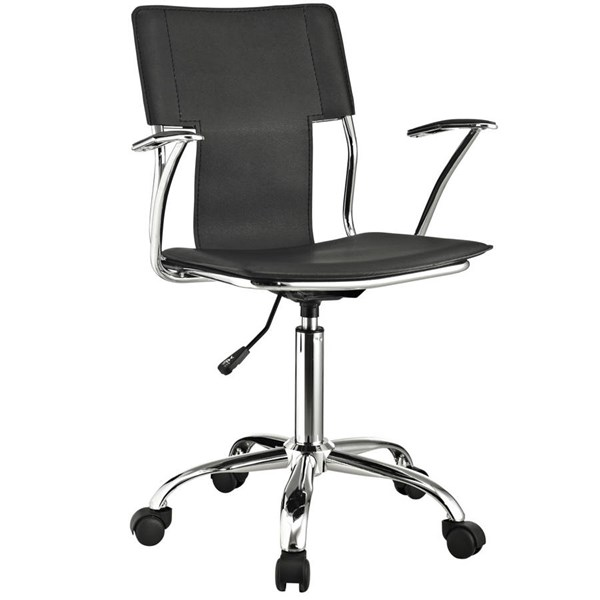 Modway Furniture Studio Black Office Chair EEI-198-BLK