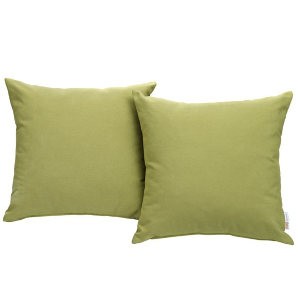 2 Modway Furniture Convene Peridot Outdoor Patio Pillows EEI-2001-PER
