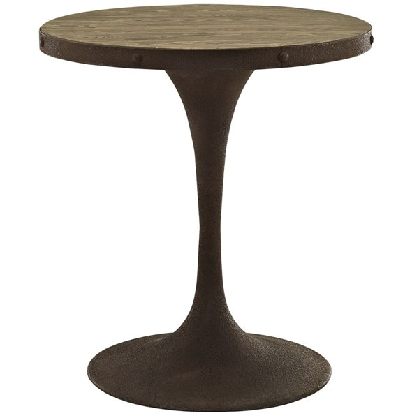 Modway Furniture Drive 28 Inch Dining Table EEI-2006-BRN-SET