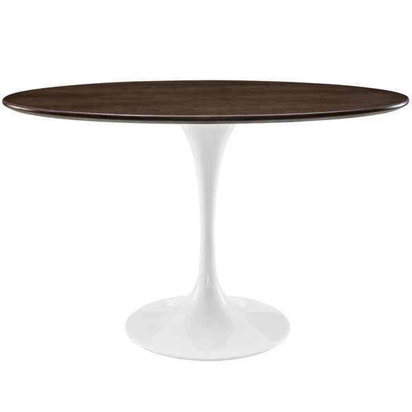 Modway Furniture Lippa 48 Inch Oval Dining Table EEI-2019-WAL