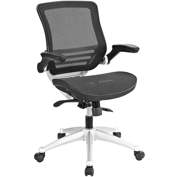 Modway Furniture Edge Black All Mesh Office Chair EEI-2064-BLK