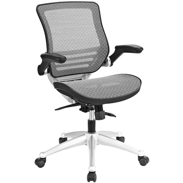 Modway Furniture Edge Gray All Mesh Office Chair EEI-2064-GRY