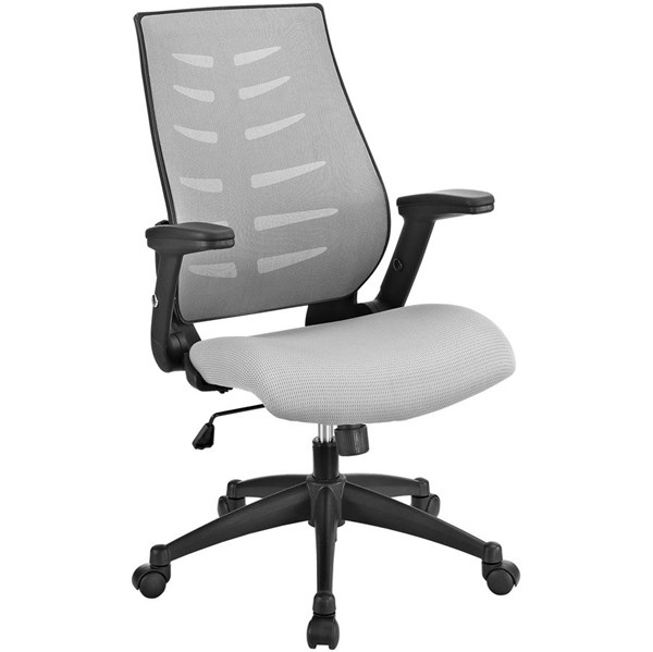 Force Gray Mesh Fabric Metal Office Chair EEI-2065-GRY